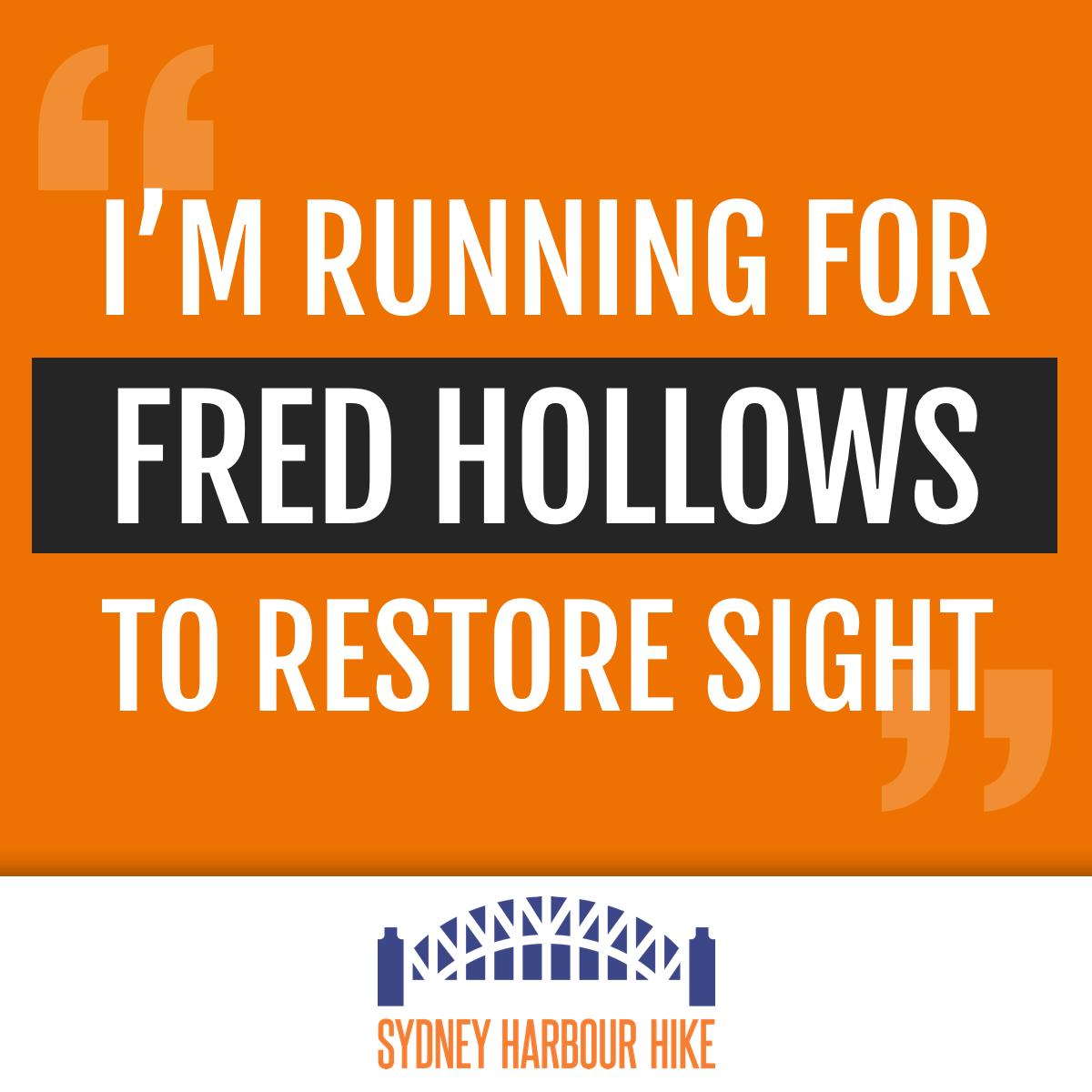I'm Running For Fred
